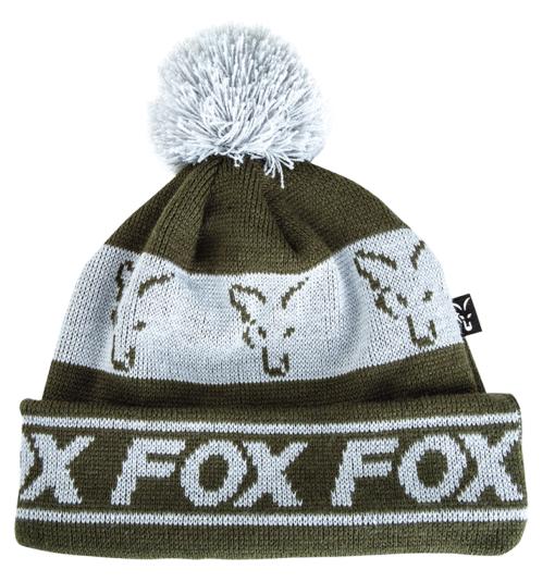 Fox Green Silver Lined Bobble 4