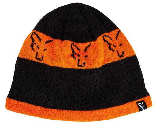 Fox Black Orange Beanie 4