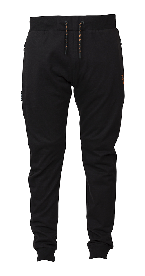Fox Collection Black Orange Lightweight Joggers 4