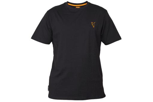 Fox Collection Black Orange T-Shirt 4