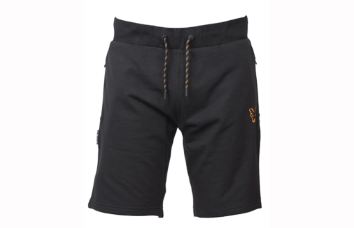 Fox Collection Black Orange Lightweight Jogger Shorts 4