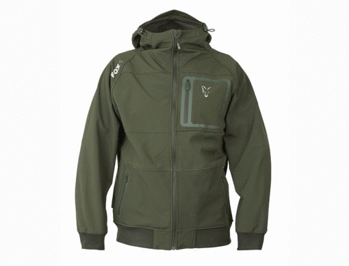 Fox Collection Green Silver Shell Hoody 4