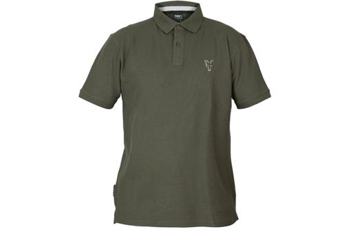 Fox Collection Green Silver Polo Shirt 4