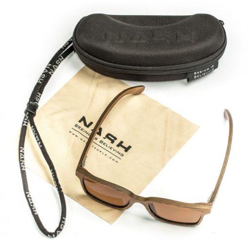 Nash Timber Amber Glasses 3