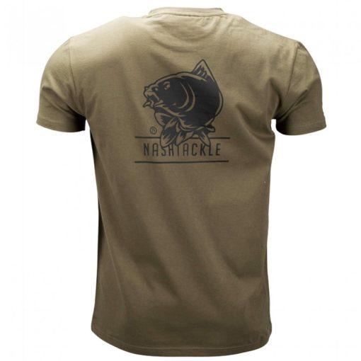 Nash Tackle T-Shirt Green 4