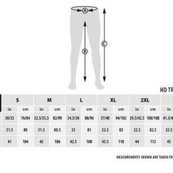 Fox Green Silver HD Trousers Angelhose 5