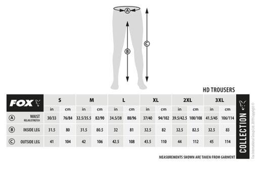 Fox Green Silver HD Trousers Angelhose 4