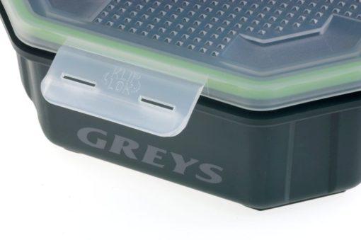Greys Klip-Lok Perforierte Köderbox 4