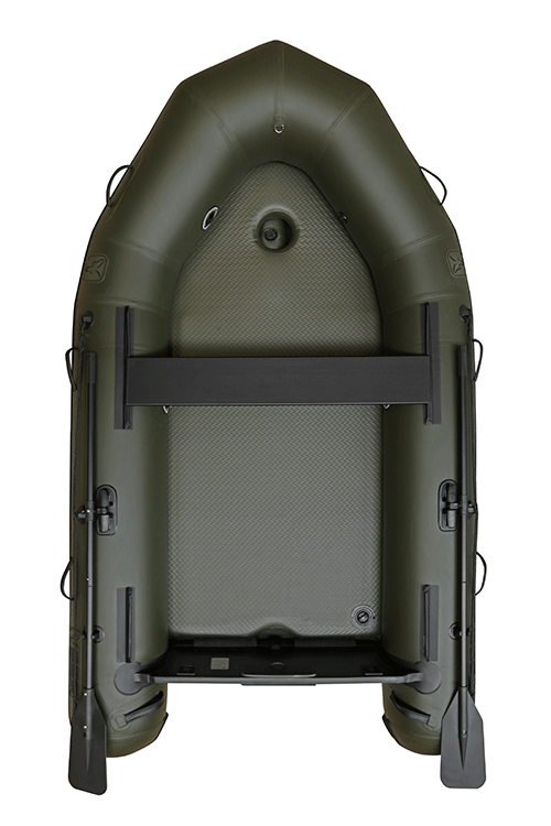Fox 290 Inflatable Boat Green with Air Deck 4