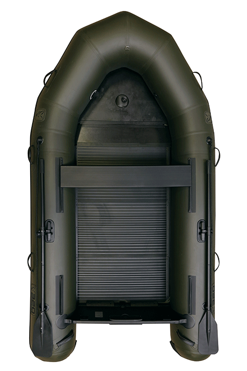 Fox 320 Inflatable Boat Green with Air Deck 4