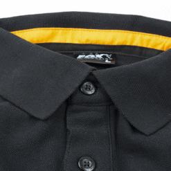 Fox Collection Black Orange Polo Shirt 10