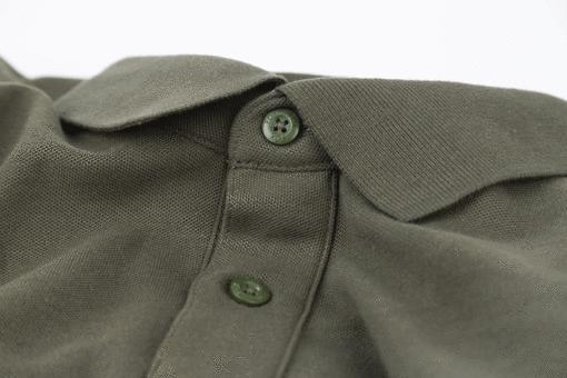 Fox Collection Green Silver Polo Shirt 5