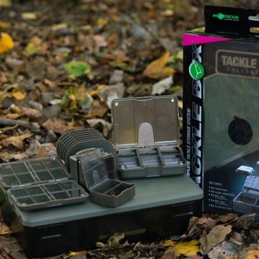 Korda Tackle Box Collection Bundle 6