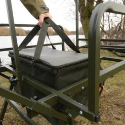 Solar Tackle SP All-Terrain Barrow with Punctureproof Wheel Trollie 10