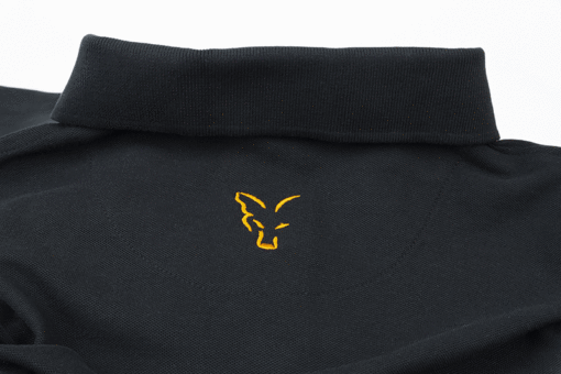 Fox Collection Black Orange Polo Shirt 7