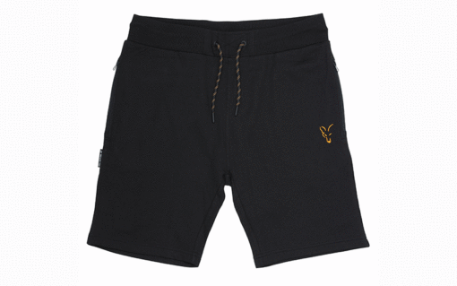 Fox Collection Black Orange Lightweight Jogger Shorts 7