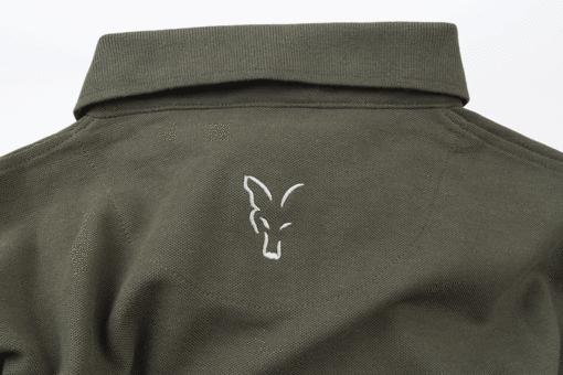 Fox Collection Green Silver Polo Shirt 8