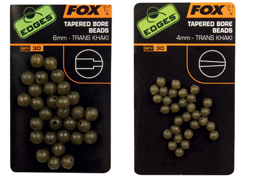 Fox EDGES Tapered Bore Beads 3