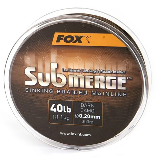 Fox Submerge Sinking Braided Mainline 3