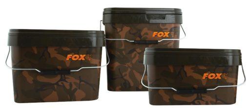 Fox Camo Square Bucket 10 Liter 3