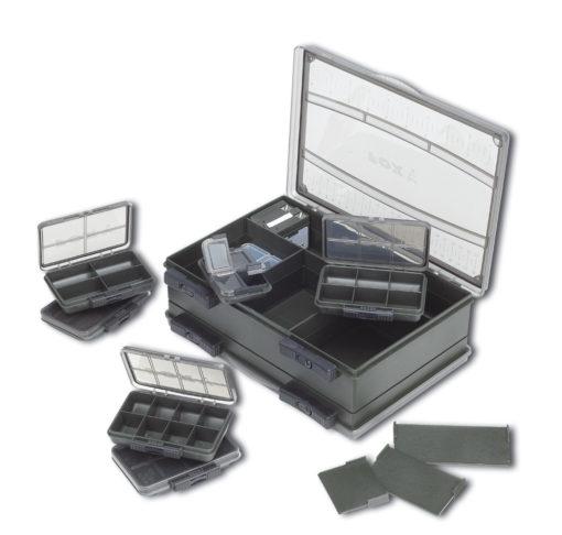 Fox F Box Deluxe Set Medium Double Tacklebox 3