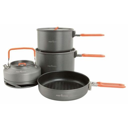 Fox Cookware Large 4 pc Set 3