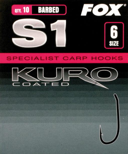 Fox S1 Kuro Hook Karpfenhaken 3