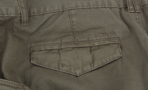 Fox Chunk Combats Trousers Khaki Hose 4