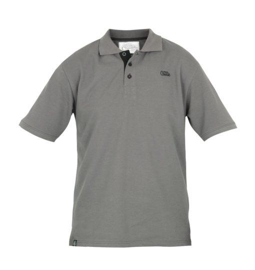 Fox Chunk Polo Shirt Black Grey 3