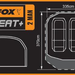 Fox Retreat+ 2 Man Dome Bivvy 13