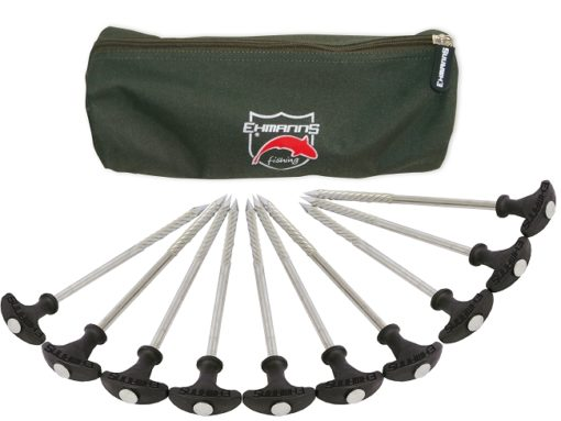 EHMANNS Hot Spot Steel Bivvy Pegs 3