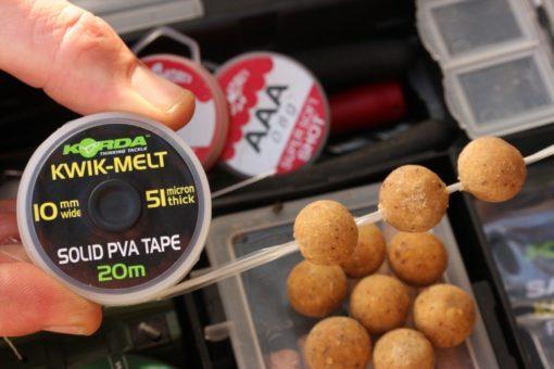 Korda Kwik Melt 10 mm PVA Tape 20m 3